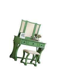 Peachy Poundex Bobkona Vanity Set Searchub Pabps2019 Chair Design Images Pabps2019Com