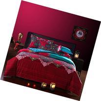 FADFAY Bohemian Style Duvet Covers Bedding Set Full Size
