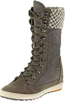 Cushe Women's Boho Chill Waterproof Boots Grey 38 B EU