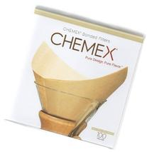 Chemex Coffee Filter Squares Pre-Folded 100/Box