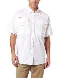 Columbia Men's Bonehead Fishing Shirt; White; Xl