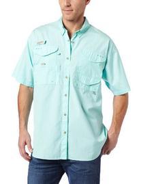Columbia Men's Bonehead Short Sleeve Fishing Shirt