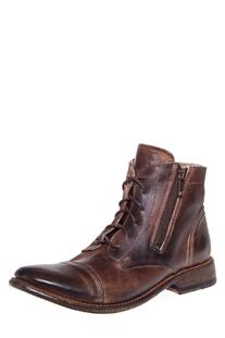 Bonnie Distressed Lace-Up Boot