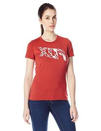 Fox Women's Bonnie Tech Tee, Heather Red, Medium