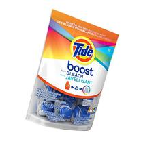 TIDE Boost Plus Bleach 18 Count, 14.1 Oz