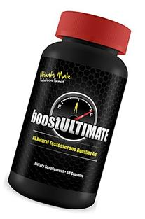 boostULTIMATE - #1 Rated Testosterone Booster - 60 Capsules