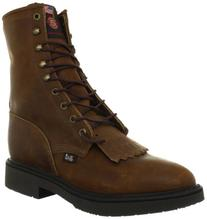Boots Men's Double Comfort Work Boot,Aged Bark,12 D US
