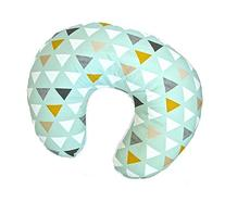 "ORGANIC Boppy Nursing Pillow Cover in ""Mod Triangles in Mint"
