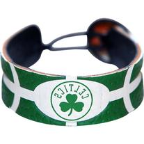 Boston Celtics NBA Team Color Basketball Bracelet