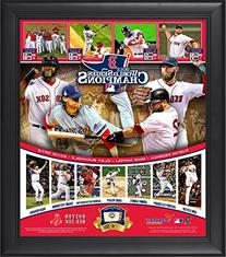 Boston Red Sox 2013 MLB World Series Champions Framed 15'' x