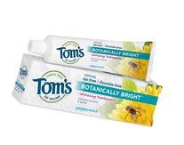 Tom's of Maine Botanically Bright, Peppermint - 4.7 oz