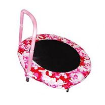 Bouncer Trampoline in Camo Pink