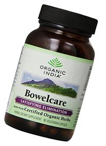 Organic India Bowelcare, Colon Cleanse for Satisfying