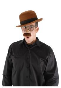 Bowler Brown Hat