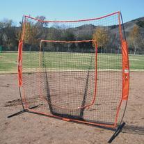 Bownet 7' x 7' Big Mouth X - Portable Sock Net for Baseball