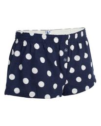 Boxercraft Ladies Bitty Boxer Shorts - Spot on Navy