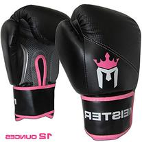 Meister Pro Boxing Gloves w/ Wrist Support  - 12 Ounce,