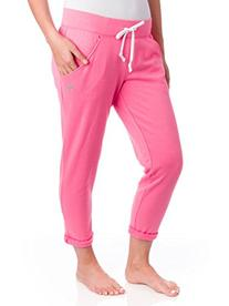 Soffe Juniors Boyfriend Capri, Neon Pink, Medium