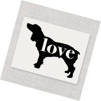 Boykin Spaniel Love - A Print on Your Choice of Fine Art