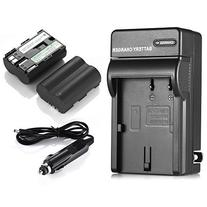 Powerextra 2 Pack Rechargerable Replacement Canon BP-511, BP