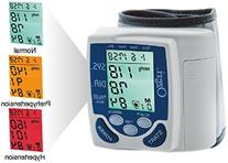 Cardiotech Premium Digital Wrist Blood Pressure Monitor