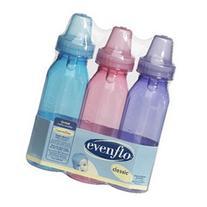 Evenflo 3 Pk BPA Free Tinted Bottles 8 oz. - Boys