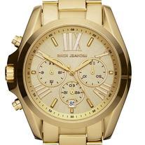 Michael Kors Bradshaw Chronograph Gold-tone Unisex Watch