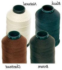 Braiding Thread Black 4oz Spool