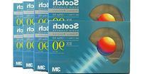 Scotch 3M Brand Cassette Tape 90 Minute Normal Bias