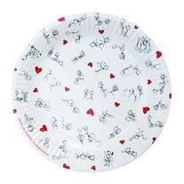 "Brand New Dirty Dishes Stick Figures Plates ""Item Type:"