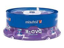 Verbatim DVD+R 4.7GB 16x AZO Recordable Media Disc - 25 Disc
