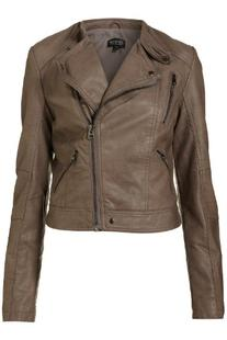 Handmade Fitters Women Brando Style Leather Jacket - X-Large