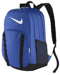 Nike Brasilia 7 Backpack Game Royal/Black/White Size X-Large