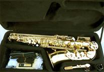 Anaxa Brass Alto Saxophone Sax w/case-Approved+Warranty