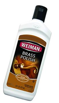 Weiman Brass and Copper Polish and Cleaner - 8 Ounce -