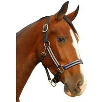 Intrepid International Breakaway Leather Crown Padded Halter