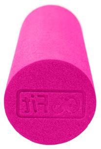 GoFit Breast Cancer Logo 18 x 6-Inch Foam Roller with
