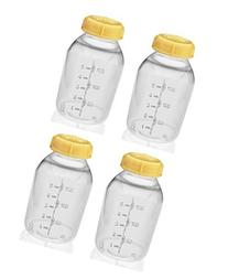 Medela Breast Milk Collection Storage Feeding Bottle w/ Lid