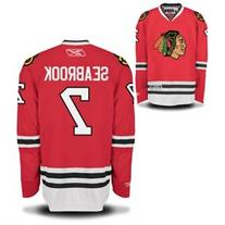Brent Seabrook Chicago Blackhawks Home Red Youth Premier