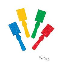 Color Brick Party Hand Clappers Party Favors - 12 ct
