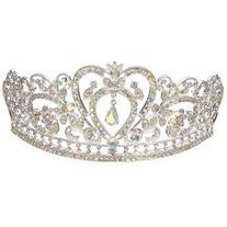 Bride Rhinestone Crystal Wedding Tiara Crown Prom Pageant
