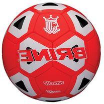 Brine Brinevoracity Soccerball RD/Whbk Sz 5