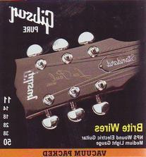 Gibson Brite Wires Electric Guitar Strings, Medium 11-50