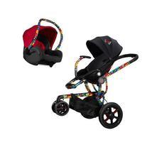 Quinny Britto Moodd Black Stroller with Maxi-Cosi Britto