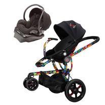 Quinny Britto Moodd Stroller Travel system w Mico AP Car