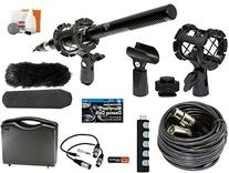 Professional Advanced Broadcast Microphone and accessories