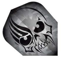 Dart World Broken Glass Flight with Skull