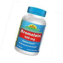 Best Naturals Bromelain 500 Mg Tablet, 120 Count
