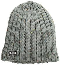 neff Men's Brooks Beanie, Charcoal Heather, One Size