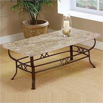 Hillsdale Brookside Fossil 48x24 Coffee Table